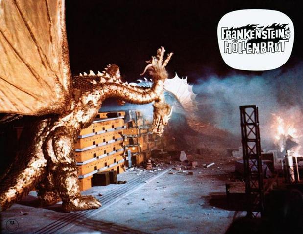 File:Godzilla vs. Gigan Lobby Card Germany 1.png