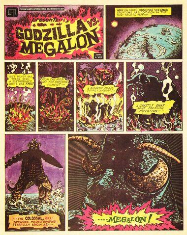 File:Godzilla vs. Megalon Comic Cover Page.jpg