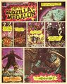 Godzilla vs. Megalon Comic Cover Page