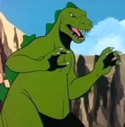 Godzilla Hanna Barbera 1