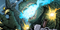 Godzilla vs The Transformers