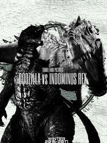 Official Godzilla vs Indominus Rex poster 2 by mario013-da5irtb (1)