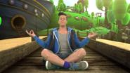 Steve Meditating (The Go!Go!Go! Show, Nick Jr