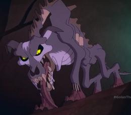 Runty's evil form