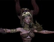 Queen of the Dead model detail