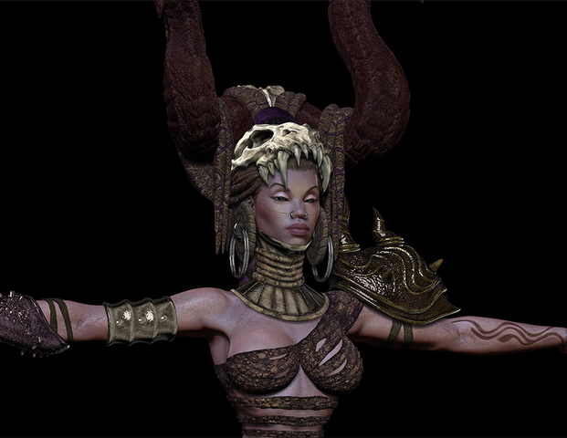 File:Queen of the Dead model detail.png