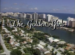 The Golden Girls opening screenshot
