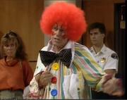 Ken in Clown outfit