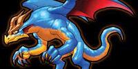Blue Dragon monster line