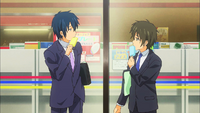 Banri and Mitsuo Meet Anime