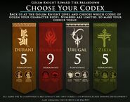 Choose Your Codex