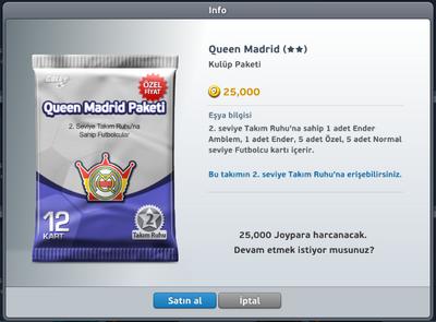 Queen Madrid