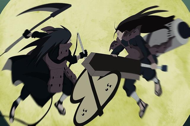 File:Madara and Hashirama clash.jpg