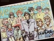 Mayor light cameos New Cutey Honey OVA 1