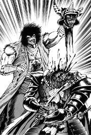 Jack beheading Dlum King
