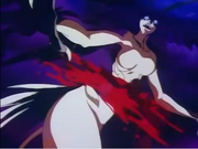 Lan Asuka Demon form killed