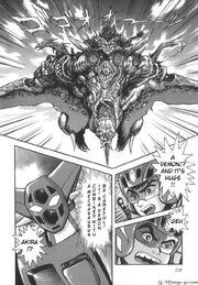 Mechasaurus fused with Demon
