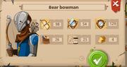 Bear bowman