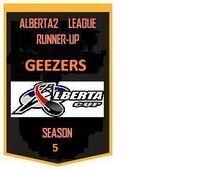GHL Runner Up Banner Season Five