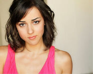 Cyrina Fiallo; Pink Tank Top