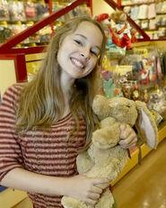 Bridgit at build a bear