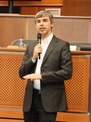 Larry Page in the European Parliament, 17.06.2009