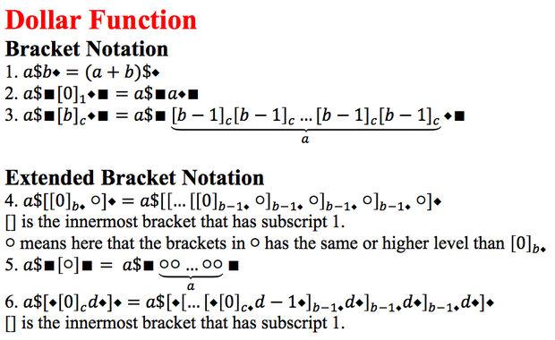 Bracket Notation New