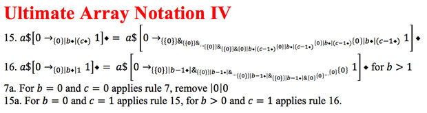 Ultimate Array Notation 3