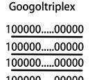 Googoltriplex