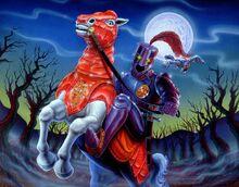 The Knight in Screaming Armor (Full Art)