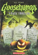 3 Pack; Attack of The Jack-O-Lanterns - The Headless Ghost - The Scarecrow Walks at Midnight