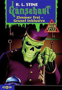 Checkout Time at the Dead-End Hotel - German Cover - Zimmer frei, Grusel inklusive.