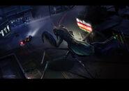 Giant Mantis chase