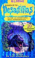 Escape from the Carnival of Horrors - Spanish Cover - La feria de los horrores 2