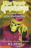 Give Yourself Goosebumps Checkout Time at the Dead-End Hotel Alternate Cover