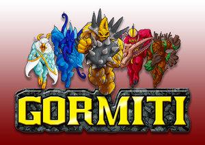 Gormiti logo by Artbysai