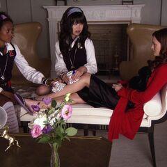 Blair with Kati and Isabel