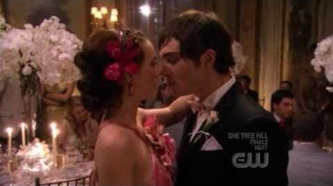 Gossip girl 1X18 Much 'I Do' About Nothing Blair and Chuck Chair Moments Love
