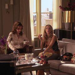 Serena and Eleanor having brunch