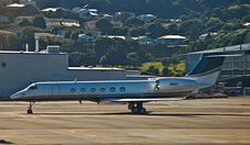 N85V, Gulfstream 5, Wellington, 26 Jan 2009