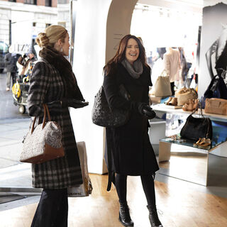 Carol and Lily Shopping