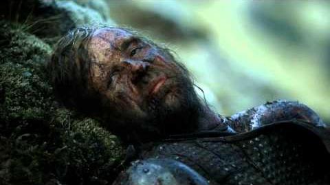 Arya and Sandor Clegane part ways