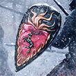 Fiery Heart Shield