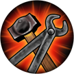 Smithy Hammer and Tongs Upgrade