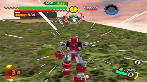 Gotcha Force - One on One with Nekobe- Wait, what?!