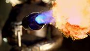 Firefly's flamethrower