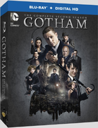 Gotham The Complete Second Season bluray cover