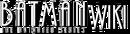 Batman the animated series wiki wordmark