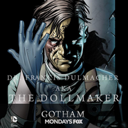 The Dollmaker season 1 promotional artwork
