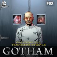 Hugo Strange Promotional Artwork for Season 2